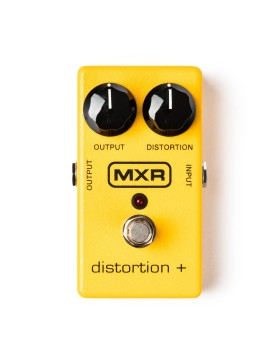 MXR DISTORTION + pedal de efecto