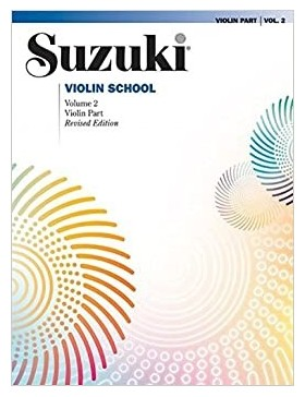 SUZUKI VIOLIN SCHOOL VOL 2 + CD