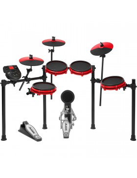 ALESIS NITRO MESH KIT SPECIAL EDITION BLACK AND RED