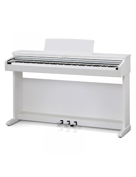 Kawai KDP 120 piano digital acabado blanco satinado.
