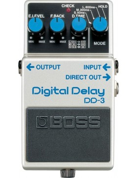 BOSS DIGITAL DELAY DD-3 PEDAL EFECTOS