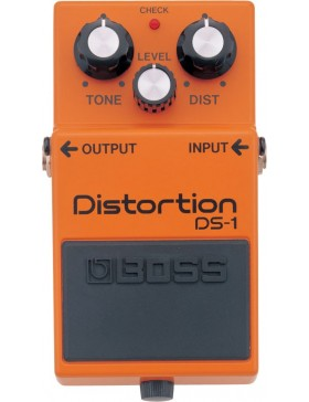 BOSS DISTORTION DS-1 CLASSIC PEDAL EFECTOS
