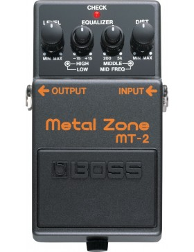 BOSS METAL ZONE MT-2 PEDAL EFECTOS DISTORSION
