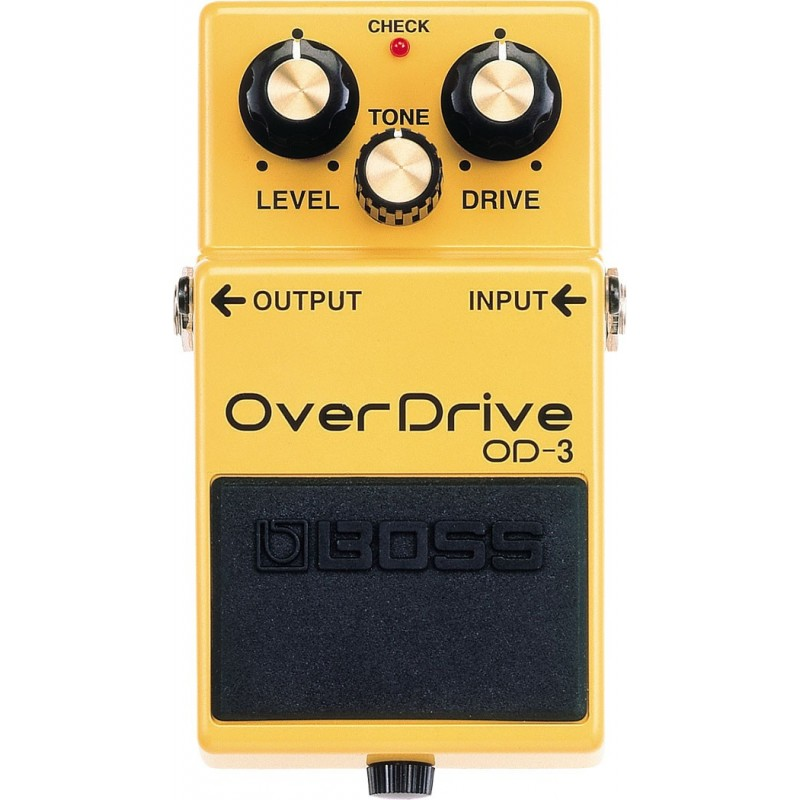 BOSS OVERDRIVE OD-3 PEDAL EFECTOS