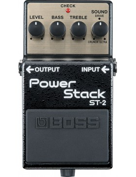 BOSS POWER STACK ST-2 PEDAL EFECTOS DISTORSION